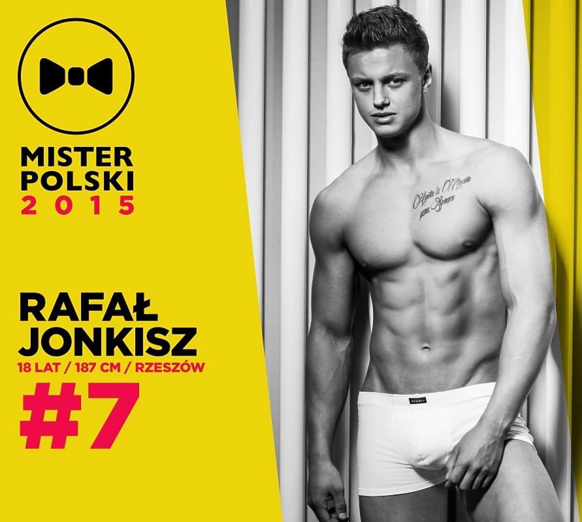 Rafał Jonkisz - kandydat do tytułu Mister Polski 2015