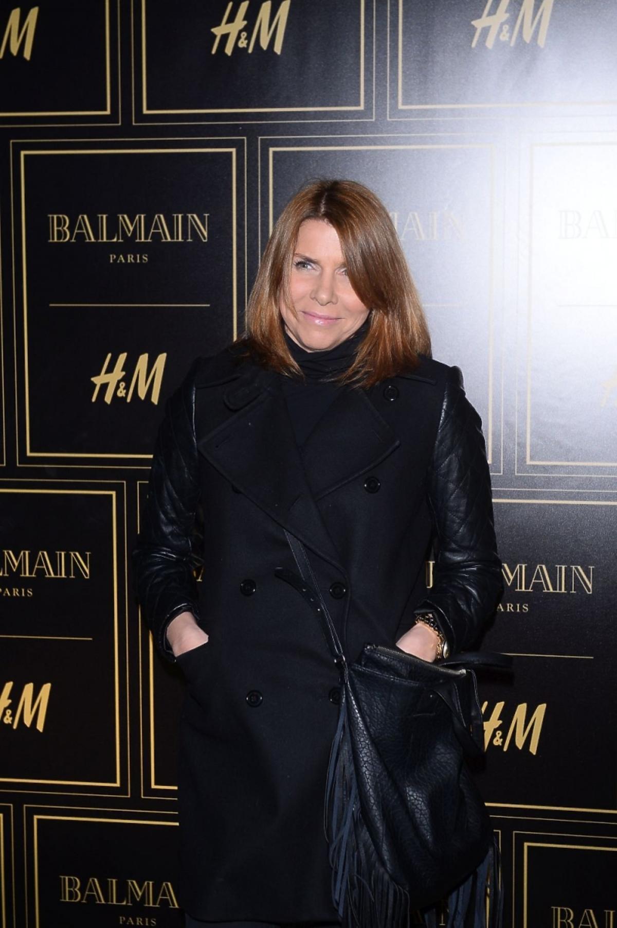 Katarzyna Kolenda-Zalewska na prezentacji Balmain dla H&M