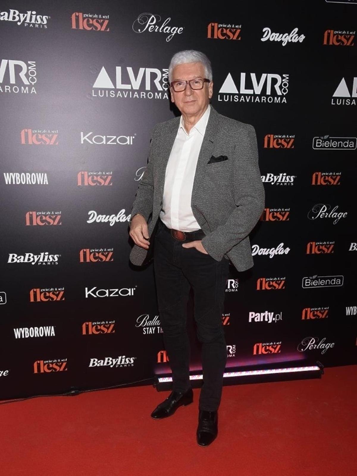 Ryszard Rembiszewski na gali Flesz Fashion Night