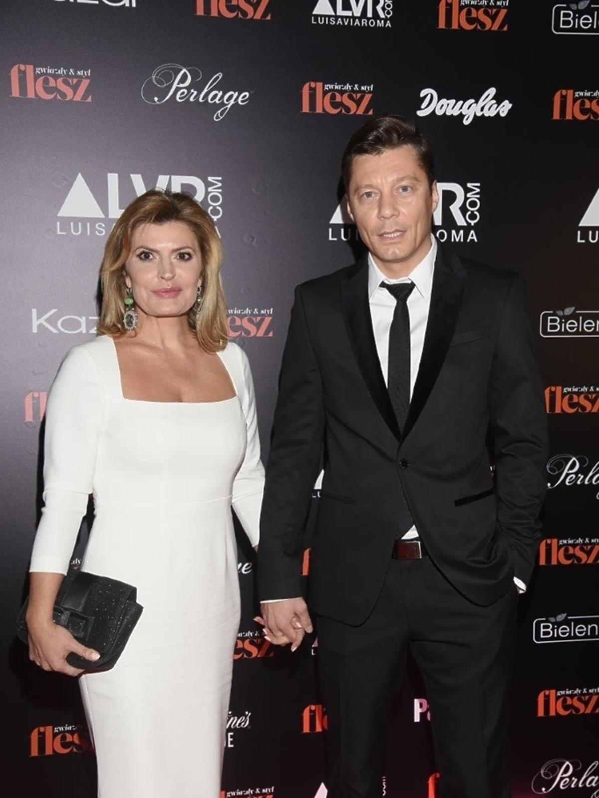 Mariusz Totoszko i Justyna Tomańska na gali Flesz Fashion Night