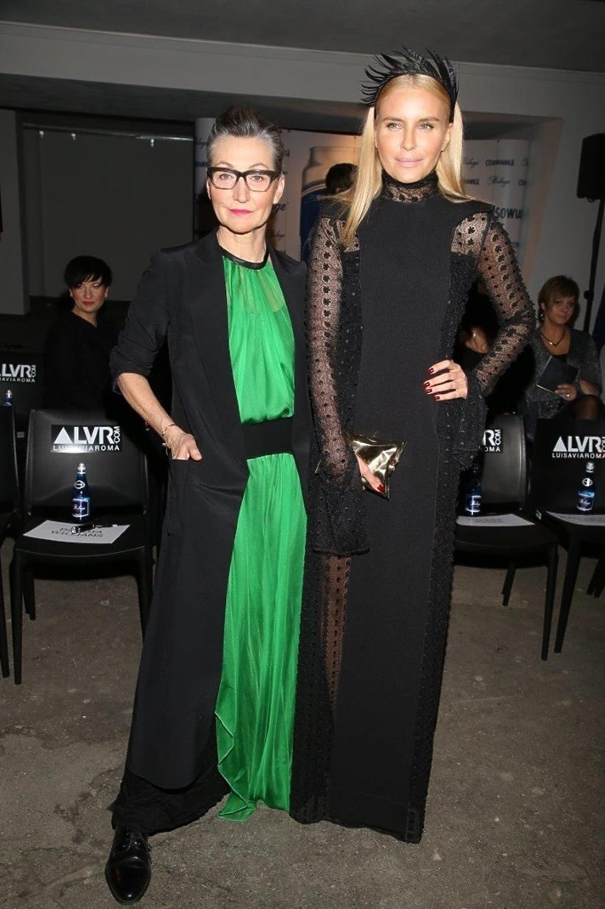 Joanna Horodyńska i Joanna Klimas na gali Flesz Fashion Night