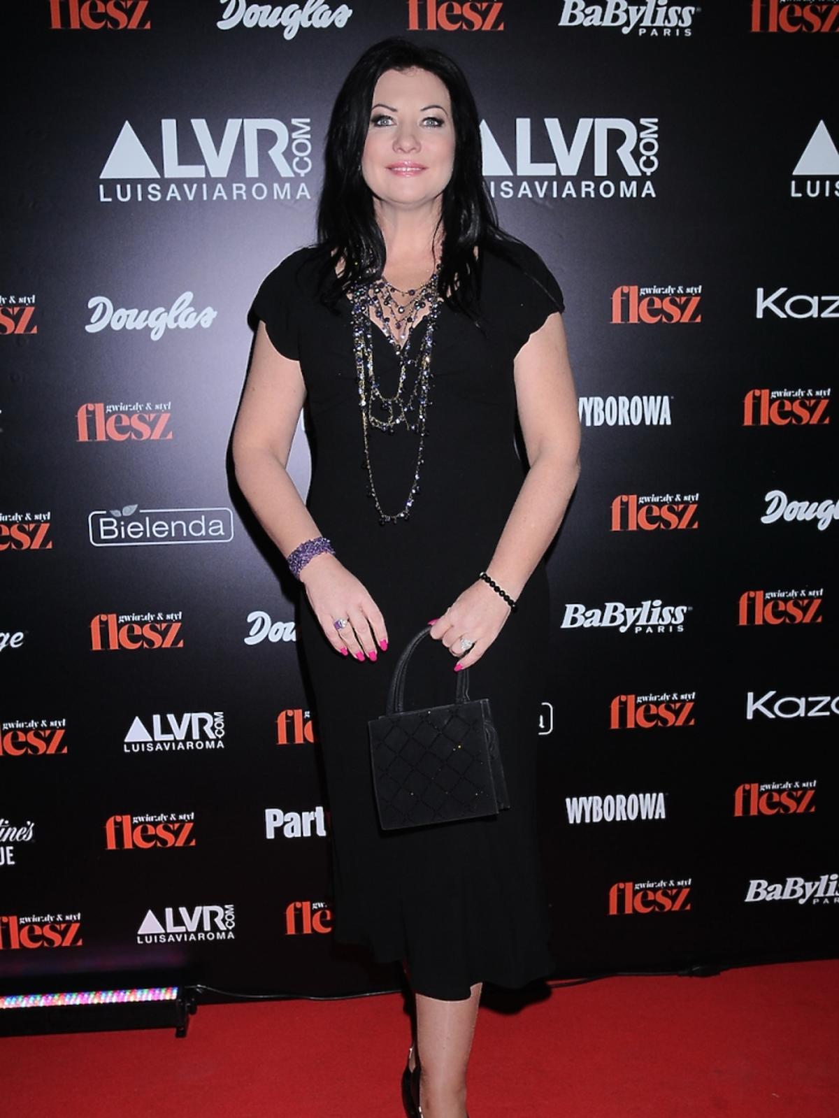 Alicja Węgorzewska na gali Flesz Fashion Night