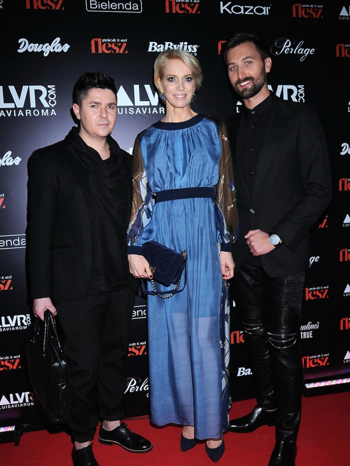 Paulina Smaszcz Kurzajewska na gali Flesz Fashion Night