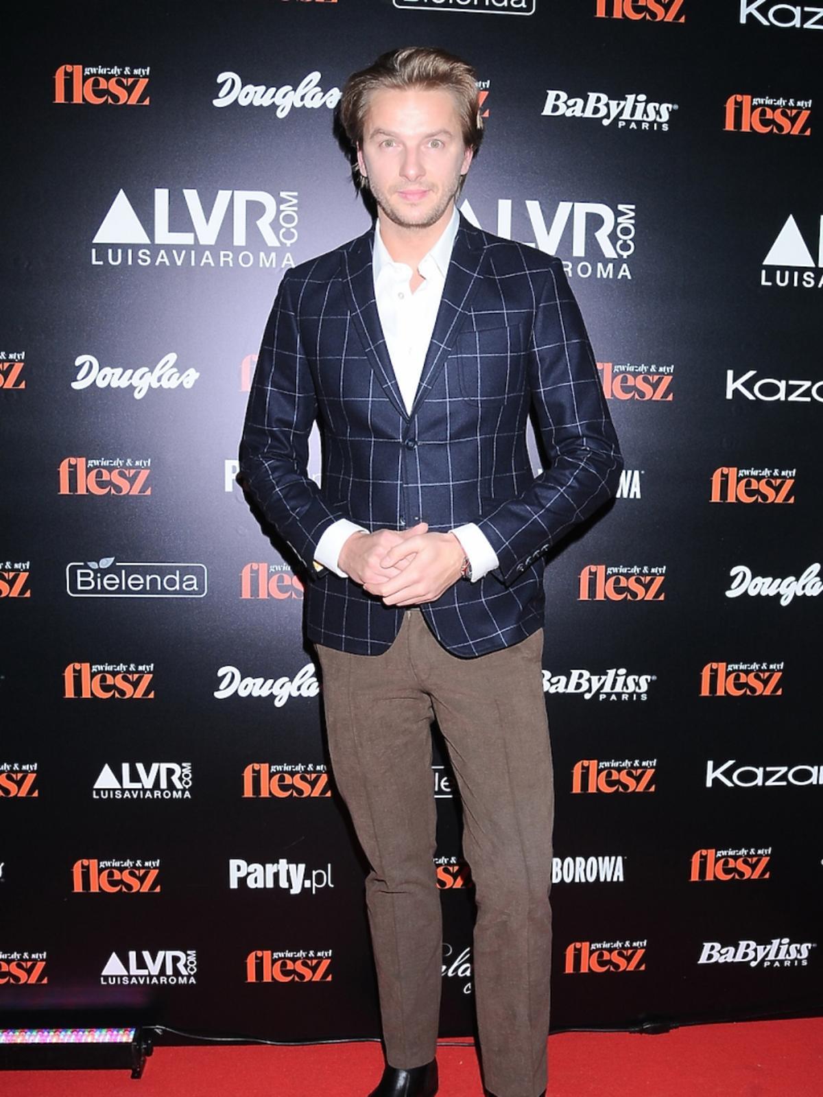 Adam Adamonis na gali Flesz Fashion Night