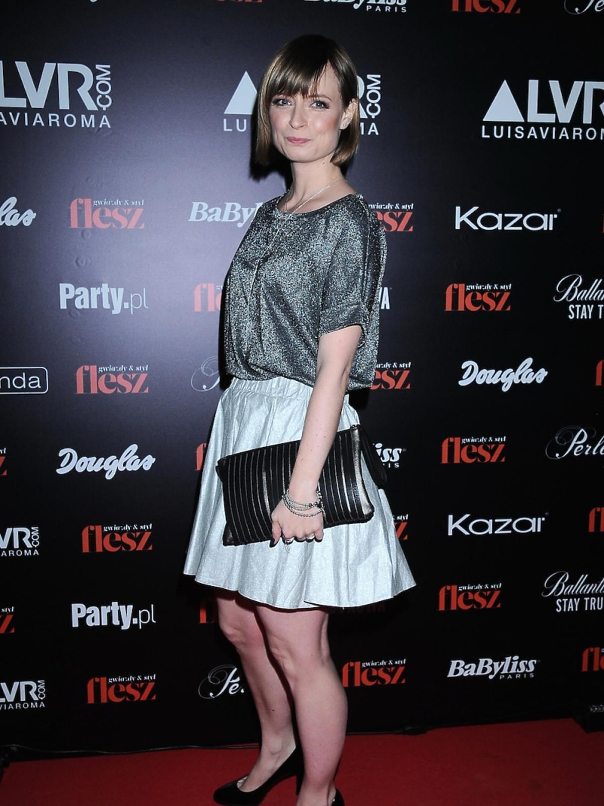 Anna Kruk na gali Flesz Fashion Night