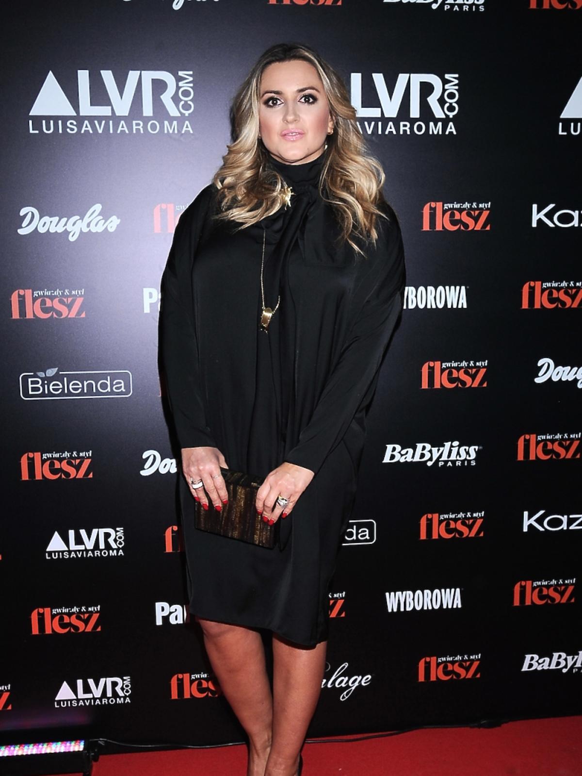 Karolina Szostak na gali Flesz Fashion Night