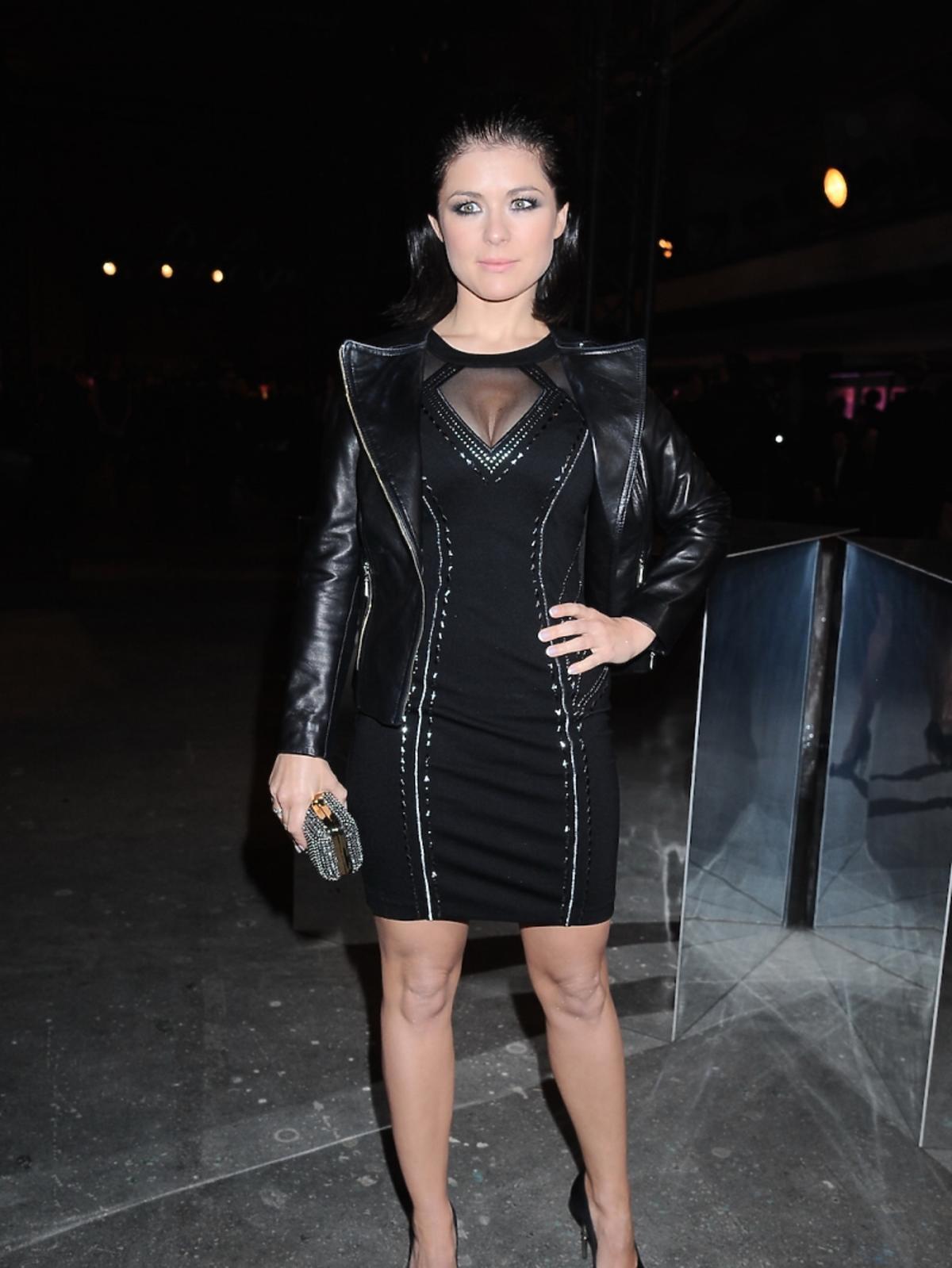 Katarzyna Cichopek w czarnej sukience