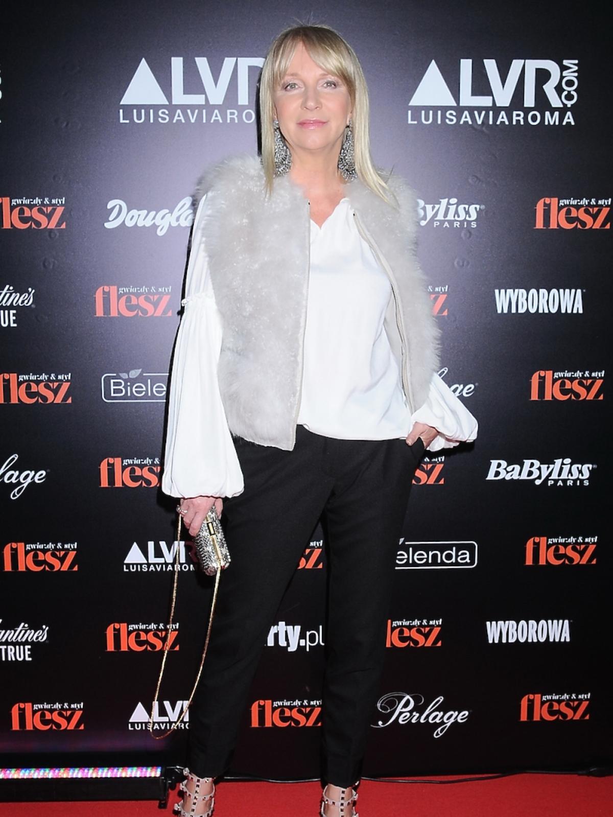 Mariola Bojarska Ferenc na gali Flesz Fashion Night