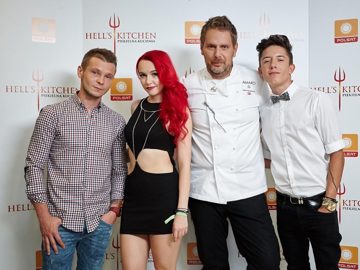 Patryk Kumów, Saszan i Dawid Kwiatkowski w finale Hell's Kitchen
