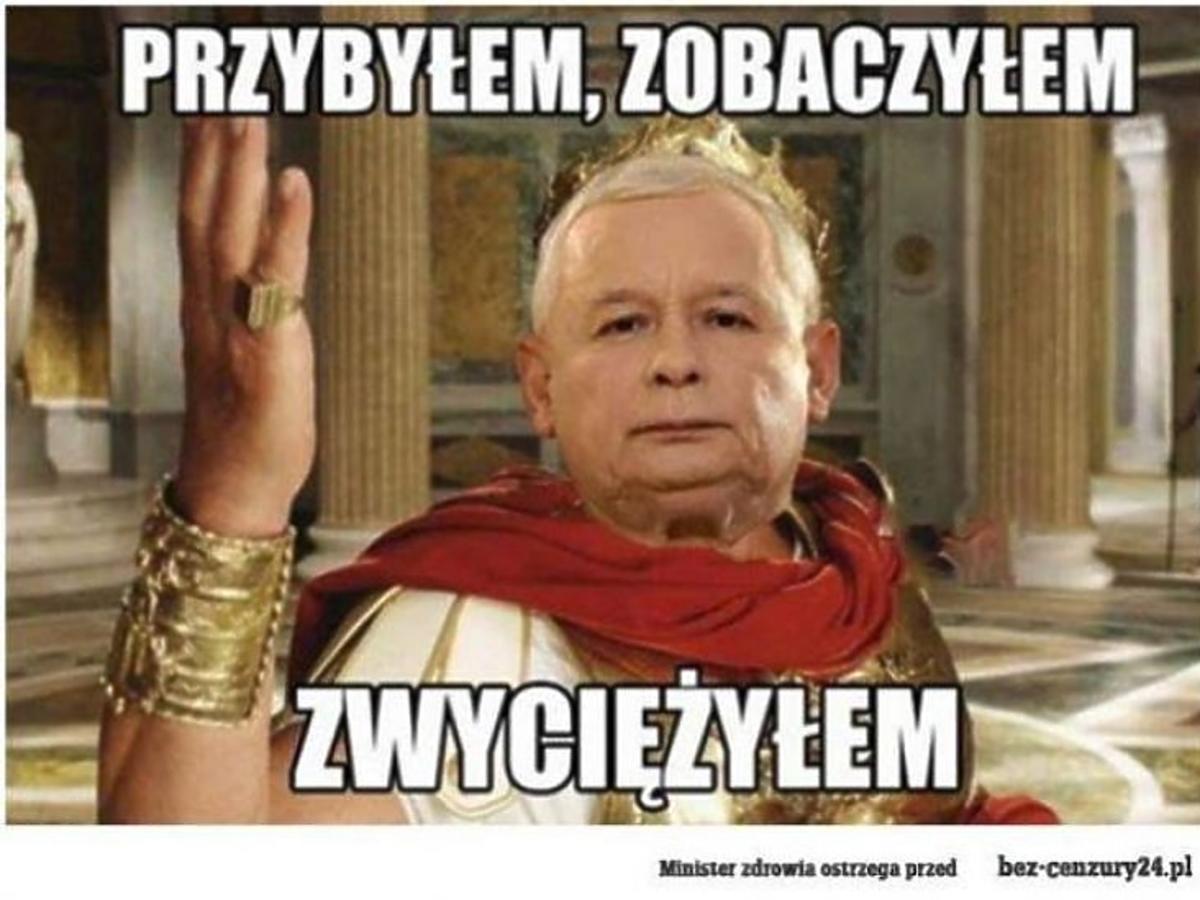 Jarosław Kaczyński na memach