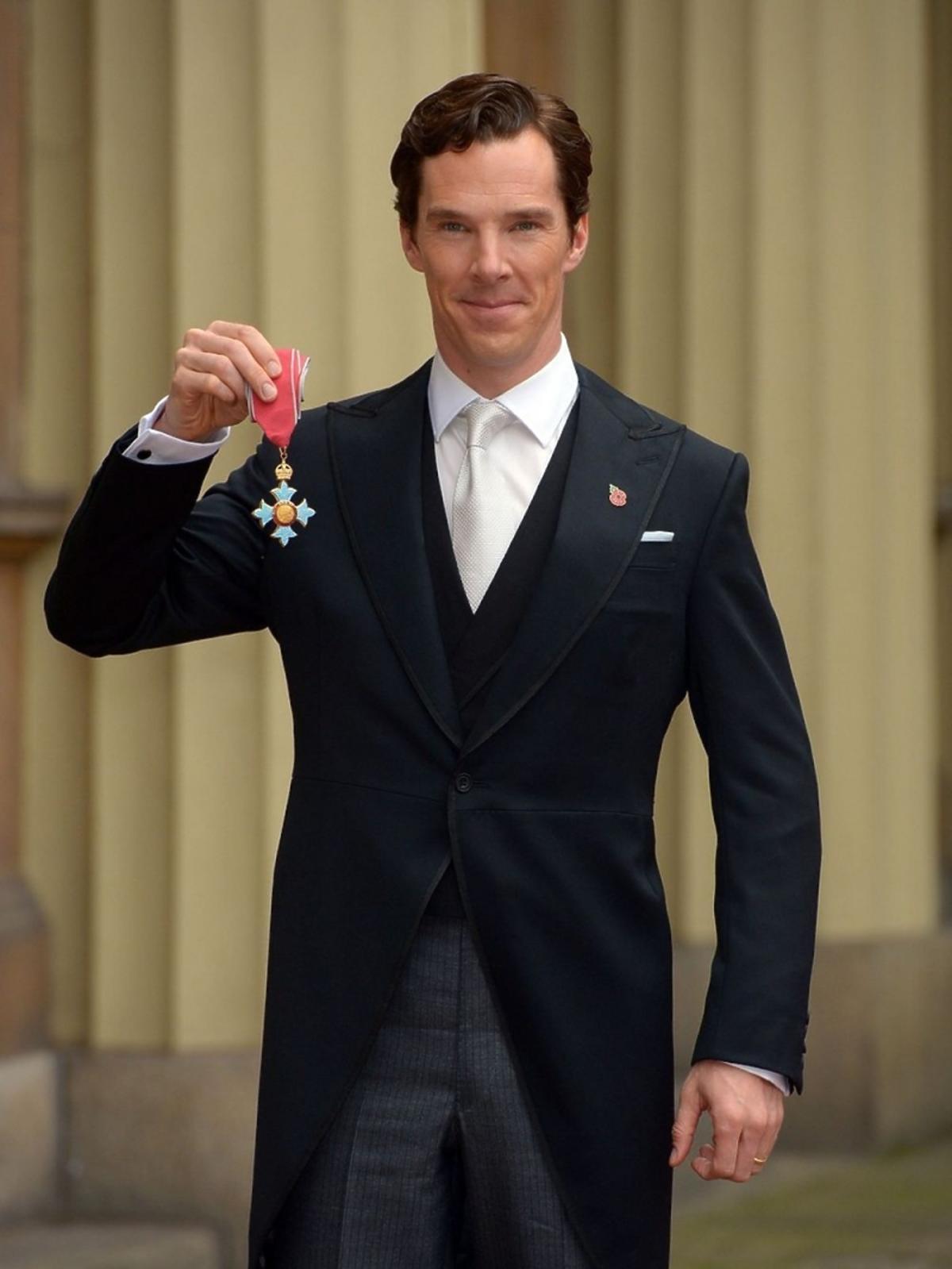 Benedict Cumberbatch we fraku
