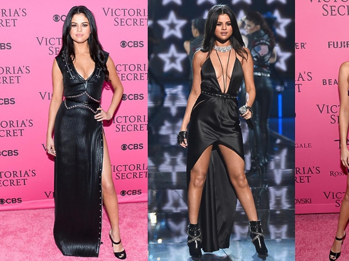 Selena Gomez w trzech stylizacjach na pokazie Victoria's Secret!