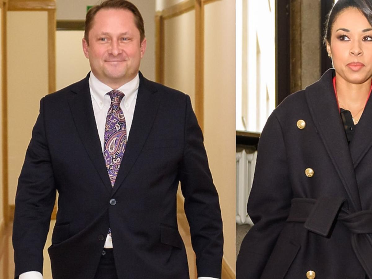Omenaa Mensah i Kamil Durczok spotkali się w sądzie