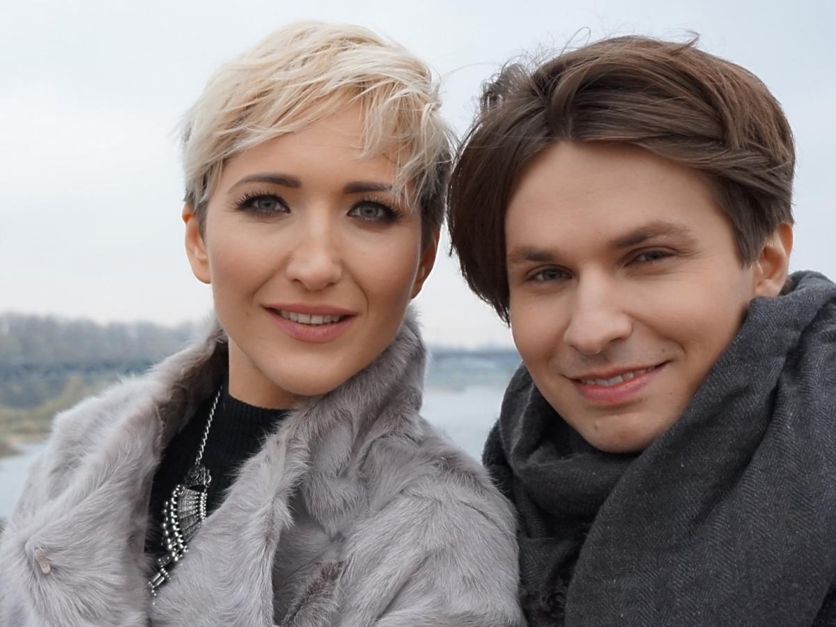 Selfie Magdy Steczkowskiej i Jakub Molendy