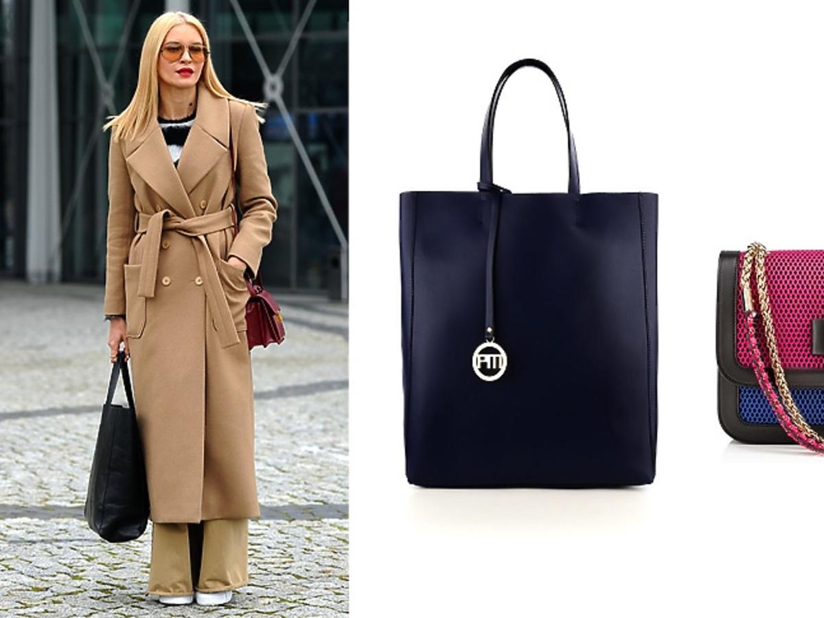 Joanna Horodyńska i modne torby
