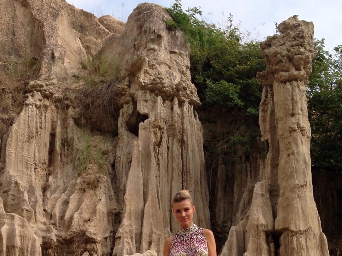 Joanna Krupa w długiej sukni