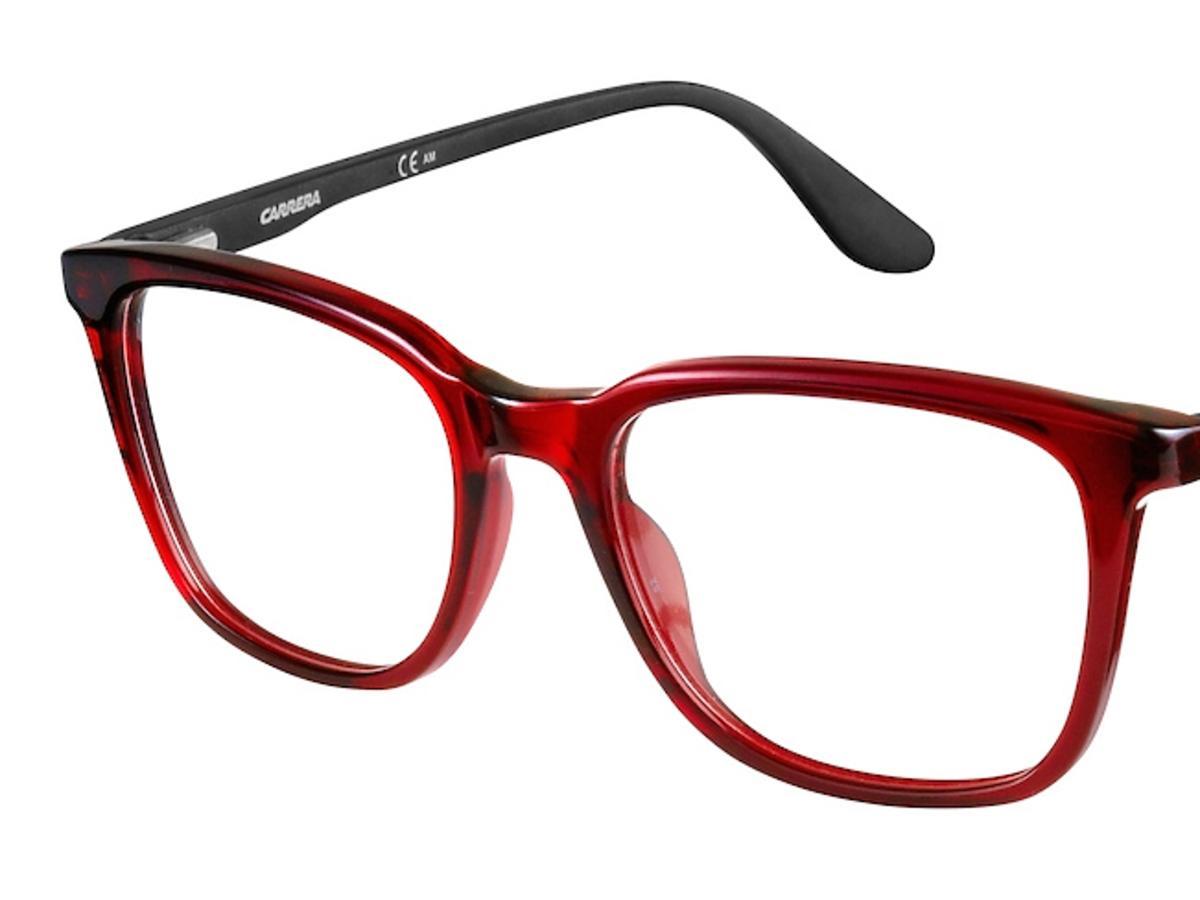 okulary czarwono- czarne