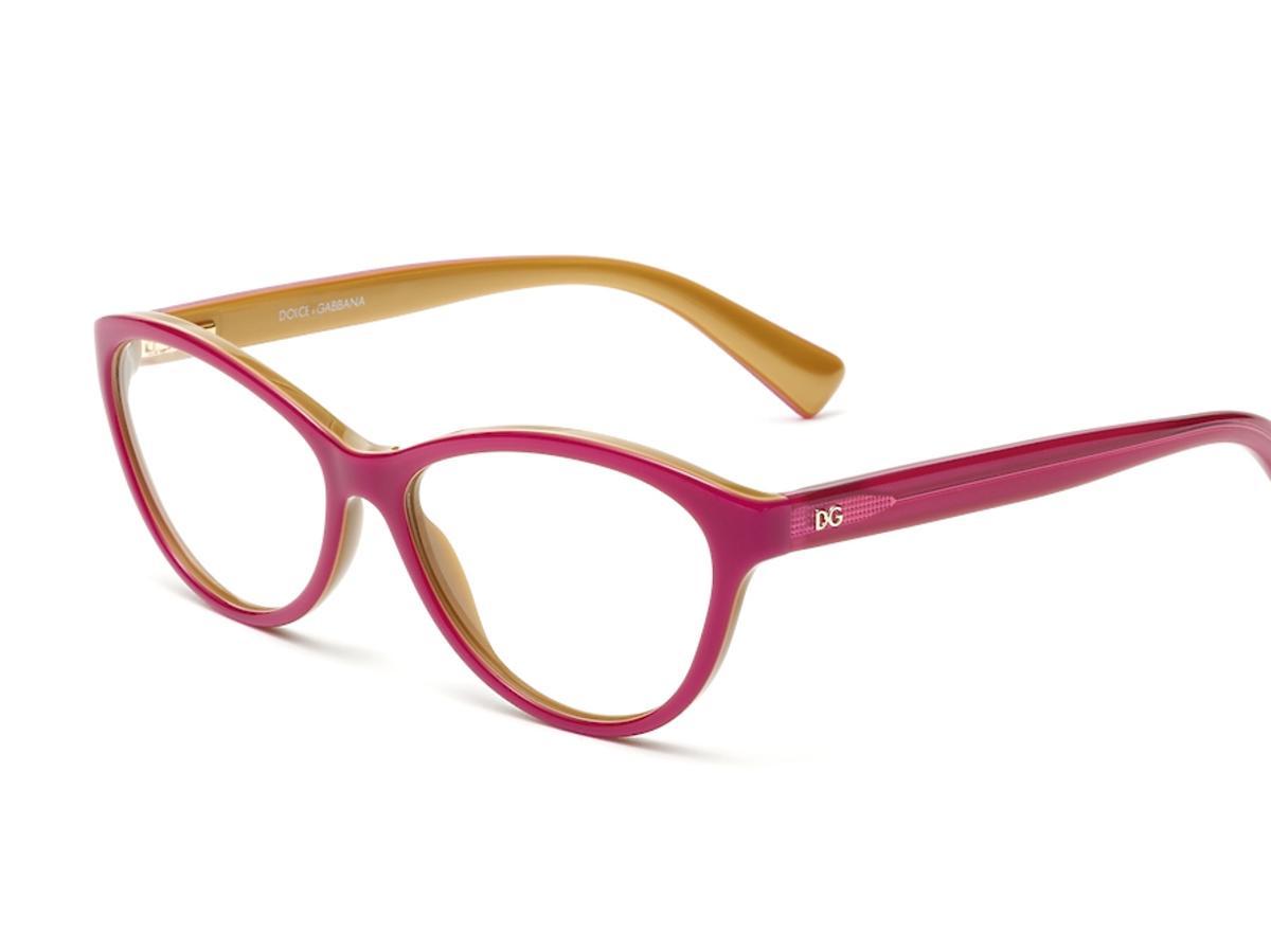 różowe okulary korekcyjne
