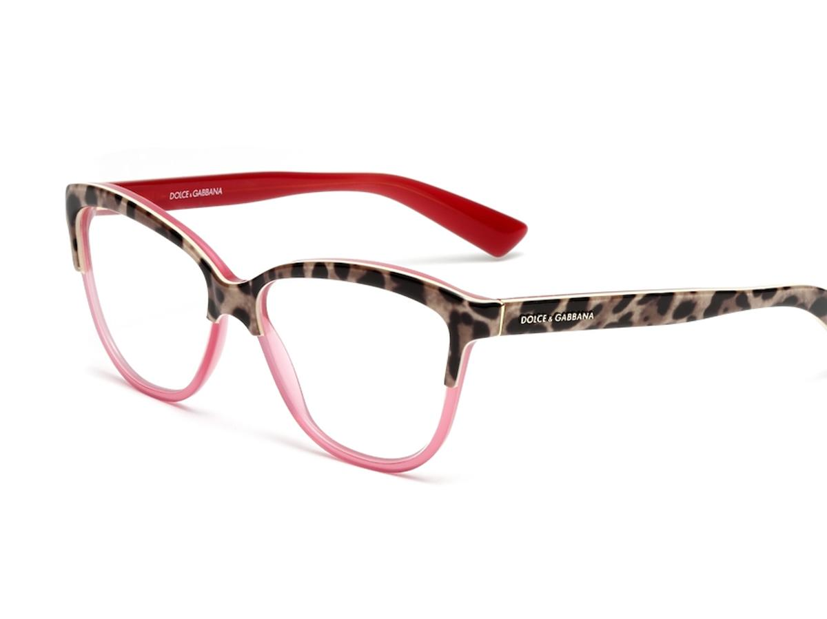 okulary korekcyjne w panterkę