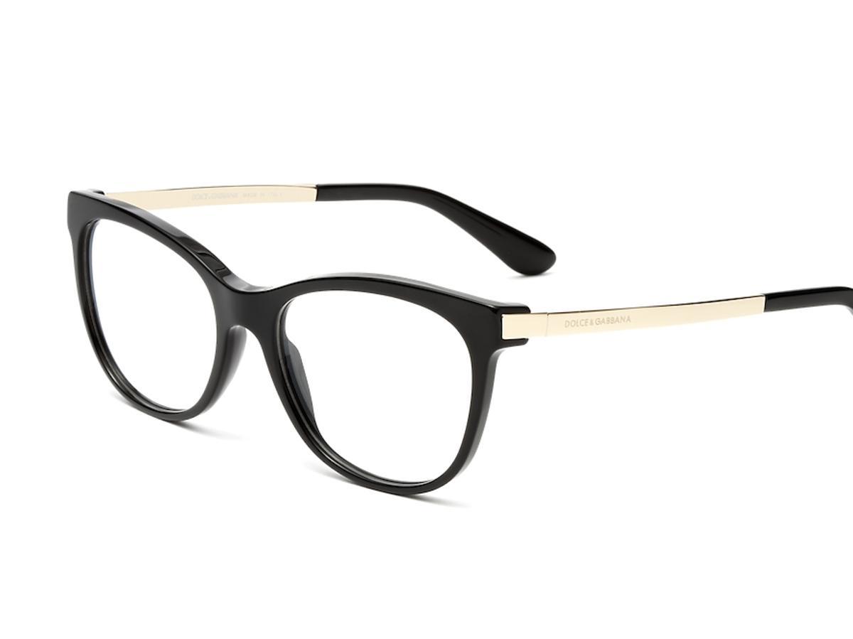 czarne okulary korekcyjne
