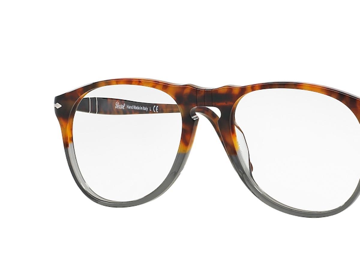 okulary korekcjne w brązowym kolorze
