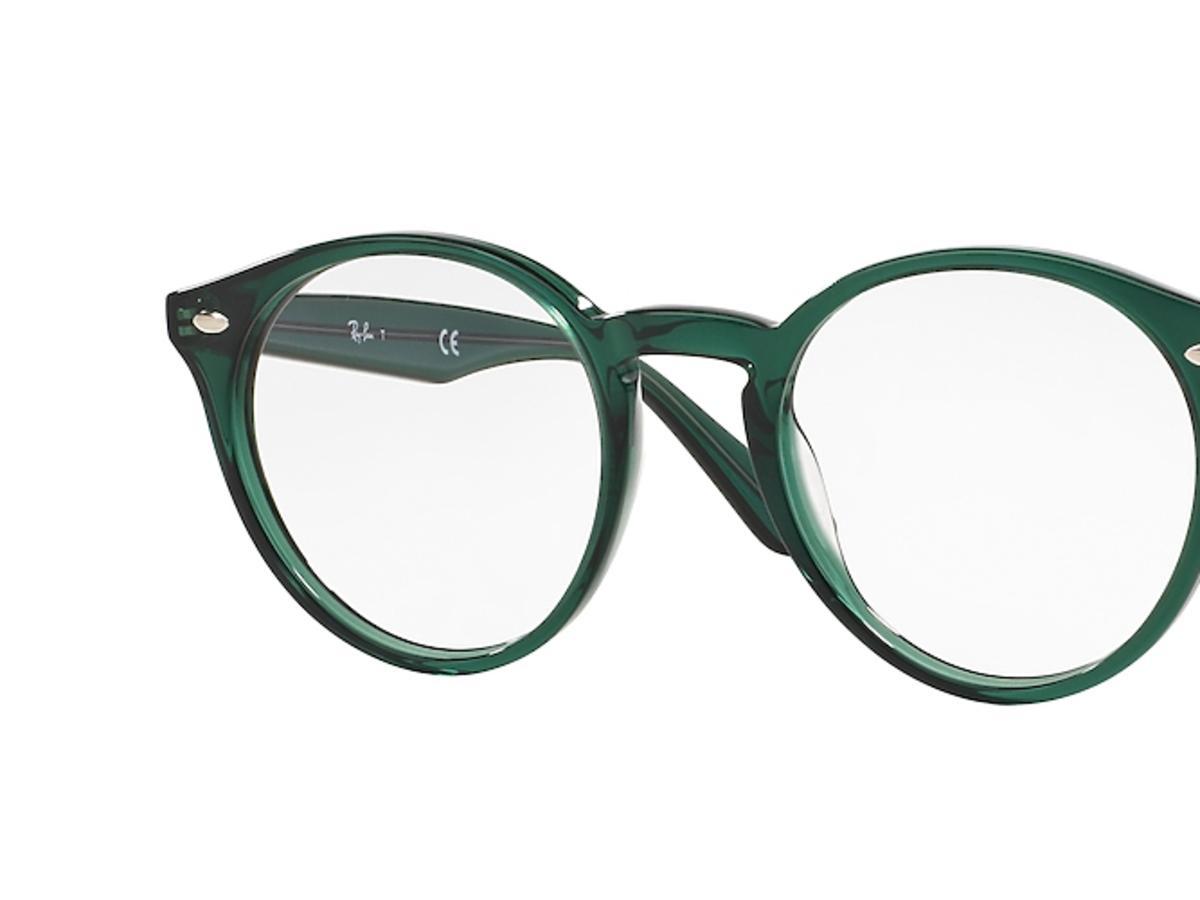 Okulary korekcyjne zielone