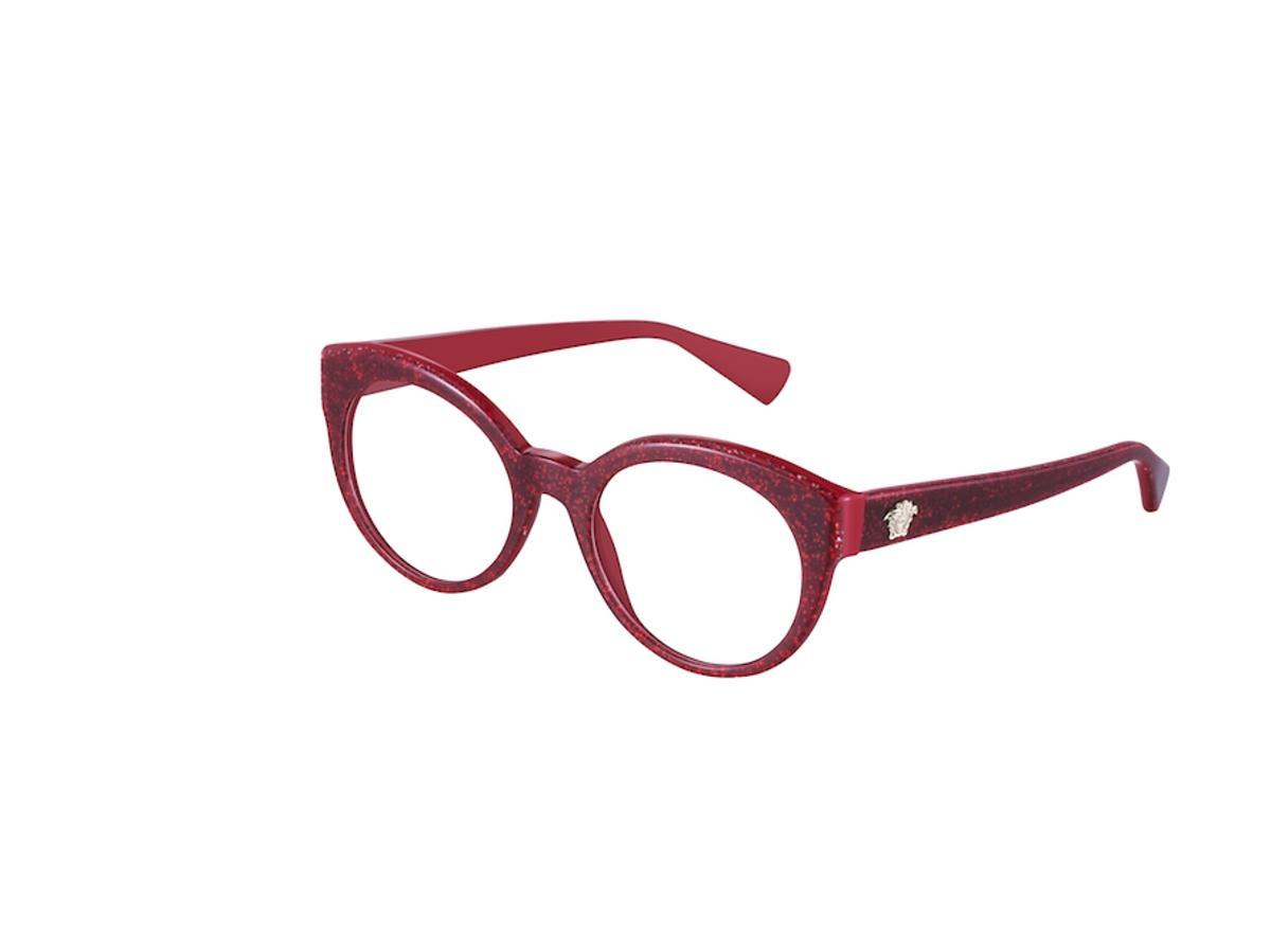 Okulary korekcyjne czerwone
