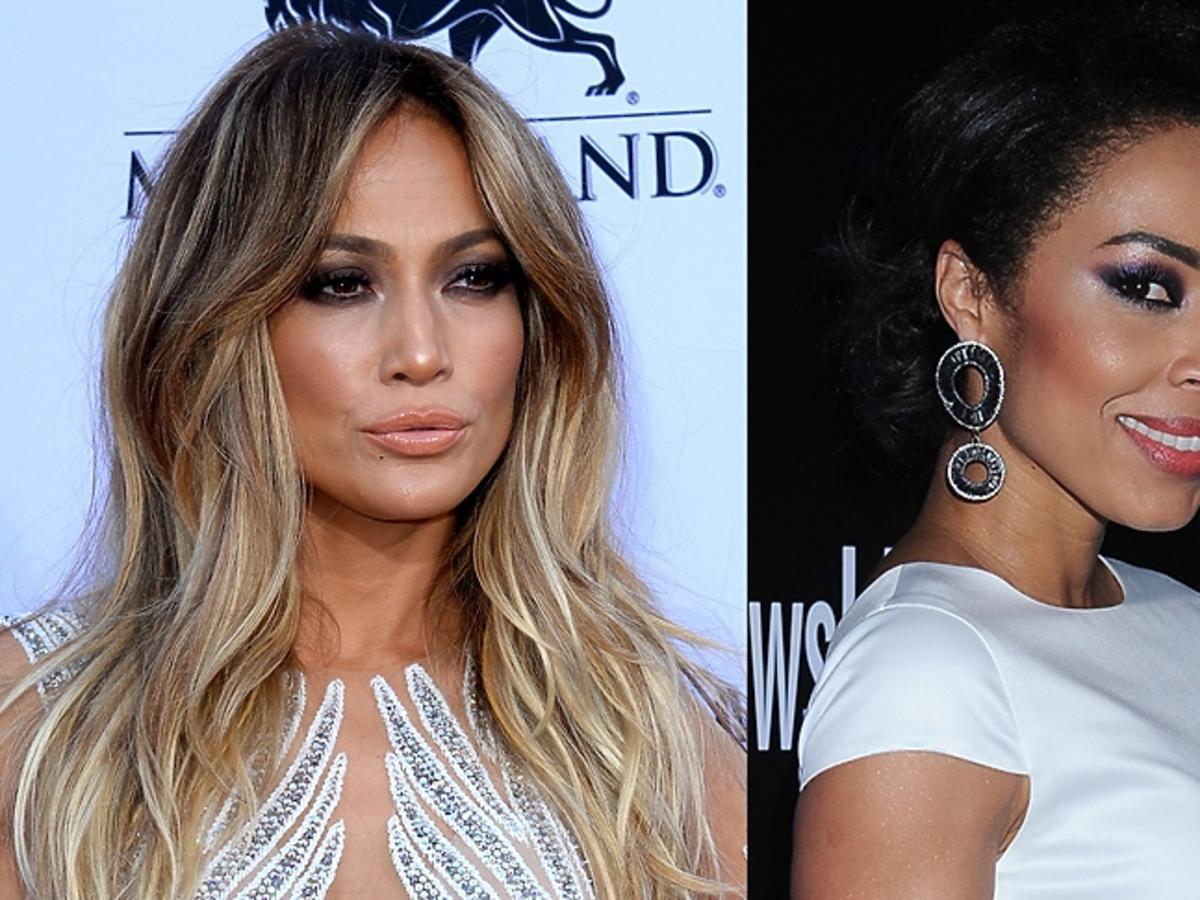 Smokey eyes: Jennifer Lopez, Omenaa Mensah