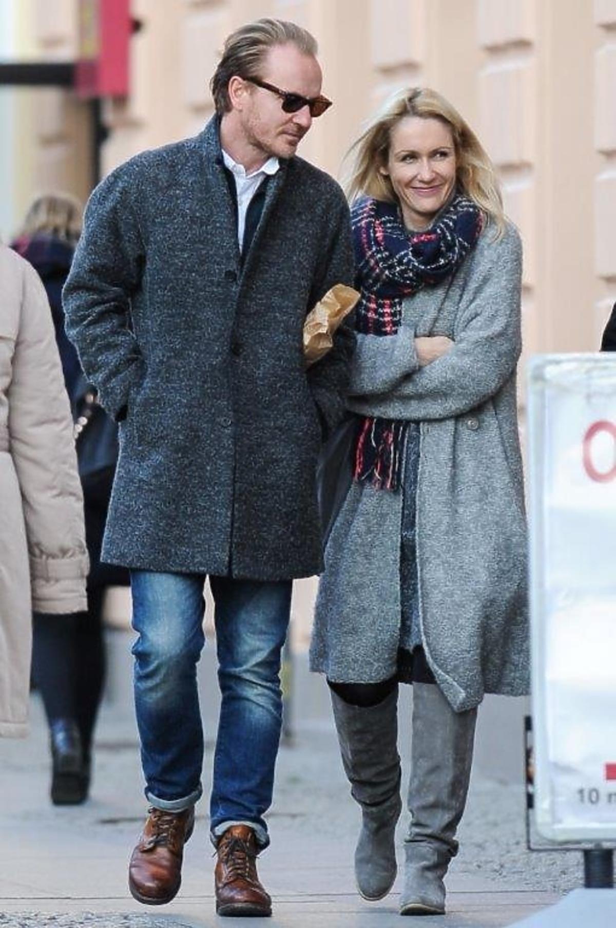 Jacek Borcuch i Małgorzata Ohme na spacerze