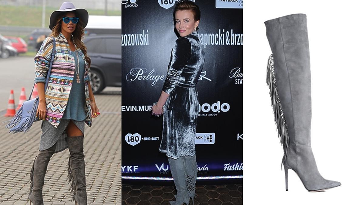 Kasia Zielińska Justyna Steczkowska w tych samych butach