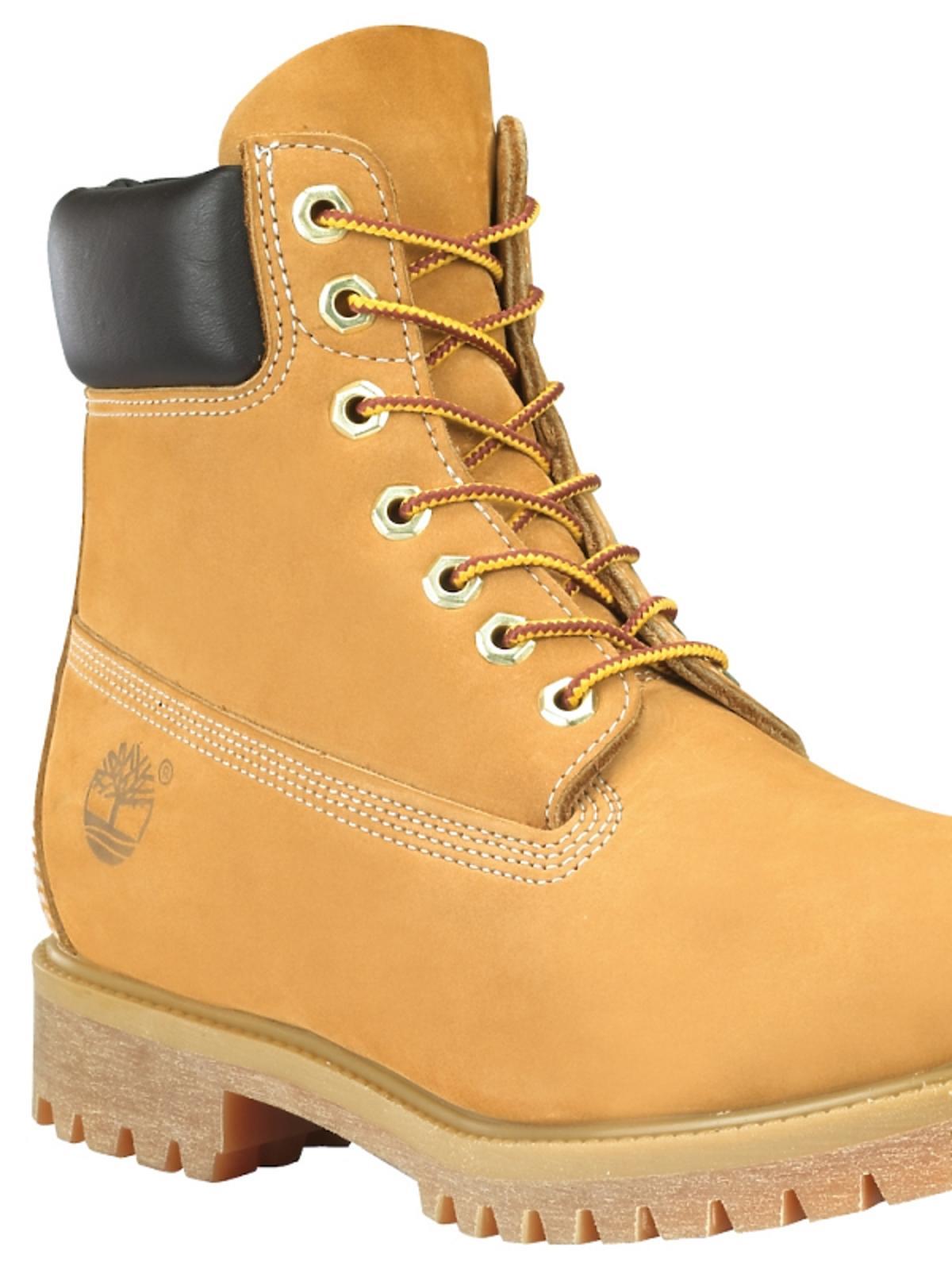 Buty trapery w kolorze żółtym