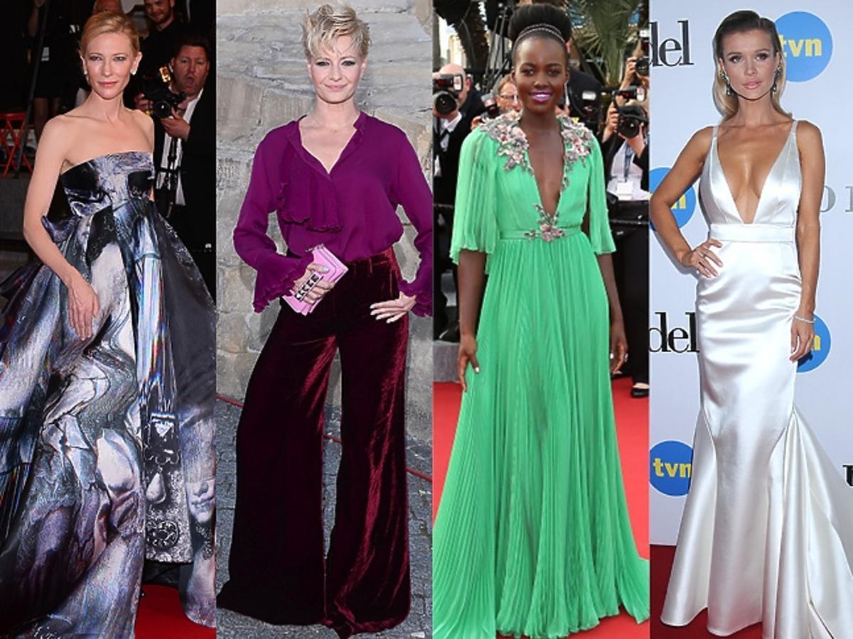 Cate Blanchett , Małgorzata Kożuchowska, Joanna Krupa, Jennifer Lawrence, Lupita Nyong'o