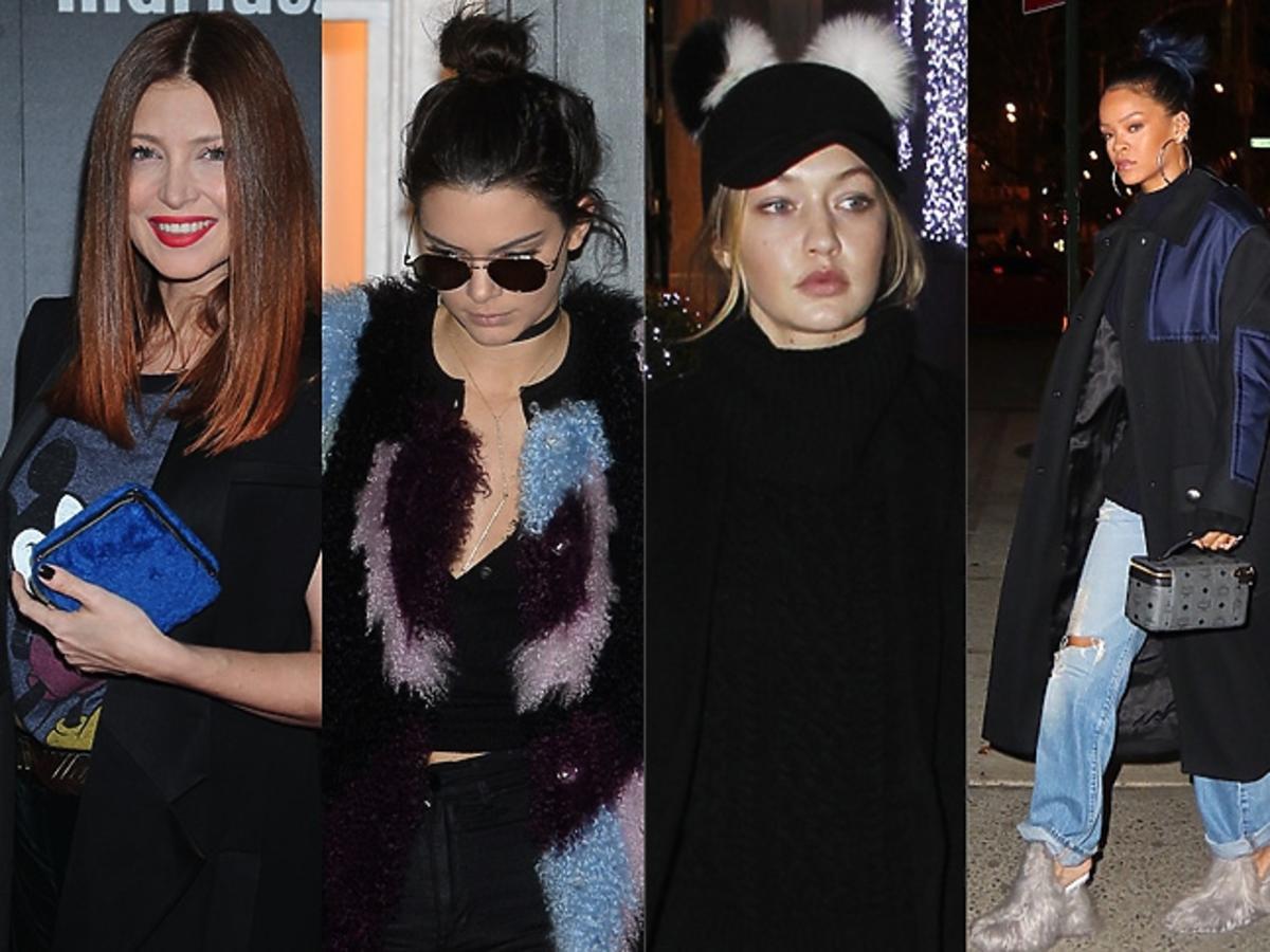 Ada Fijał, Gigi Hadid, Rihanna, Justyna Steczkowska, Kendall Jenner