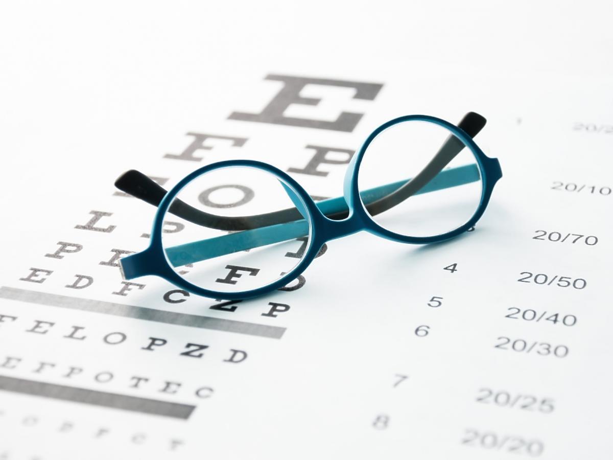 okulary i badanie wzroku