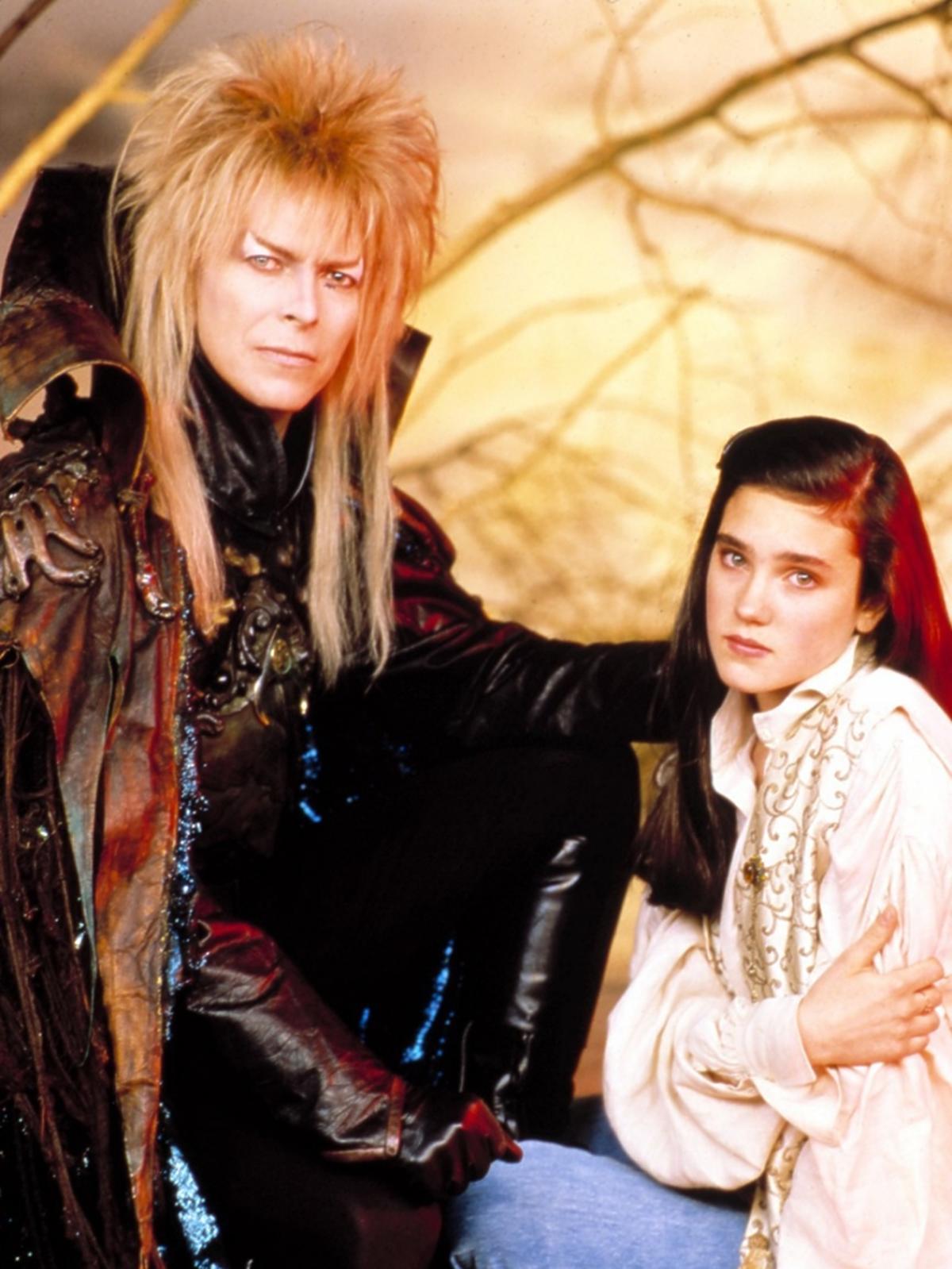 LABYRINTH, David Bowie, Jennifer Connelly, kadr z filmu
