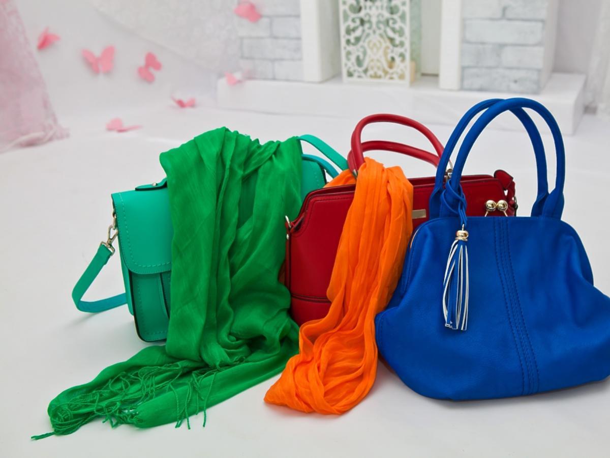 kolorowe torebki