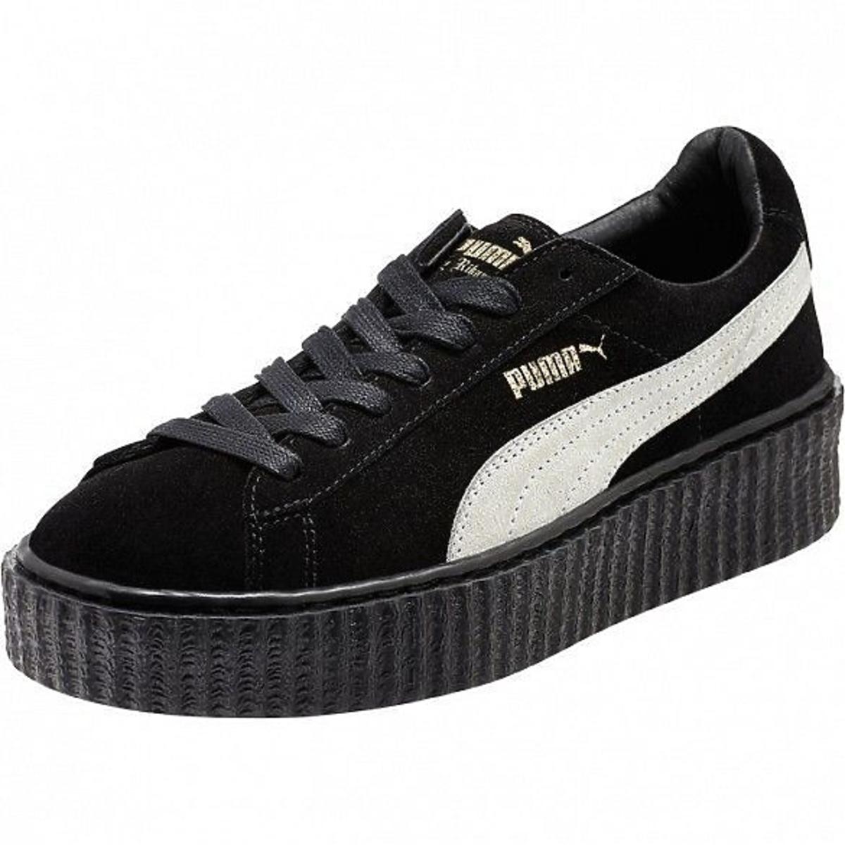 Czarne buty marki Puma