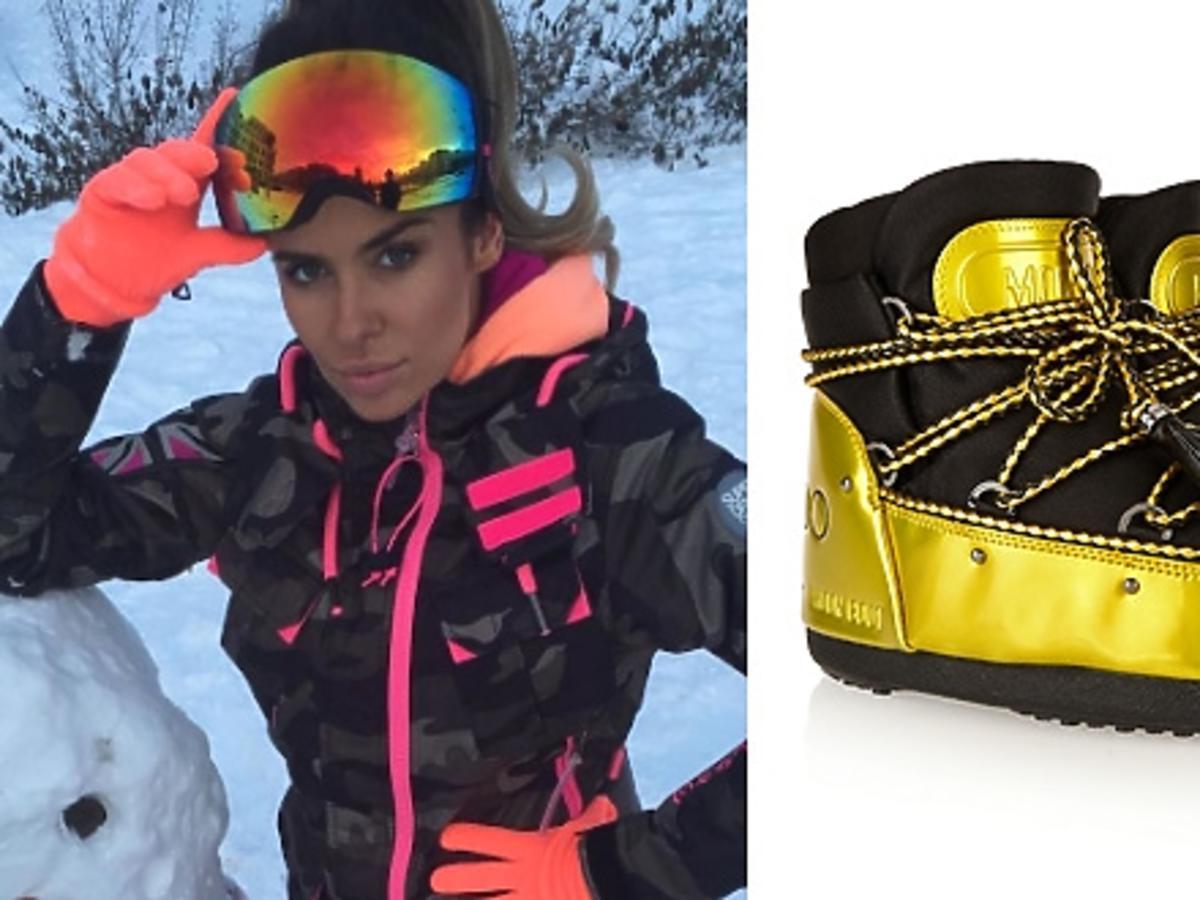 Natalia Siwiec, zimowe ubrania