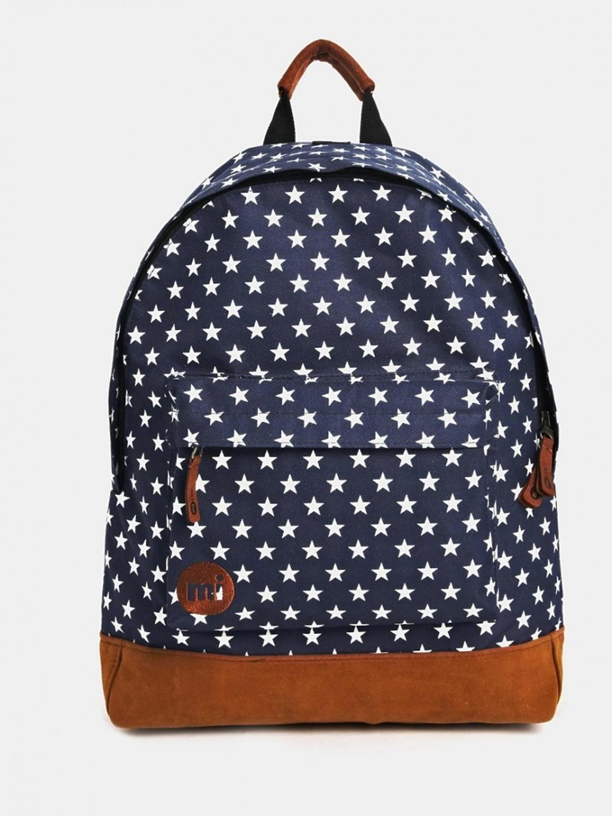 Plecak w gwiazdki