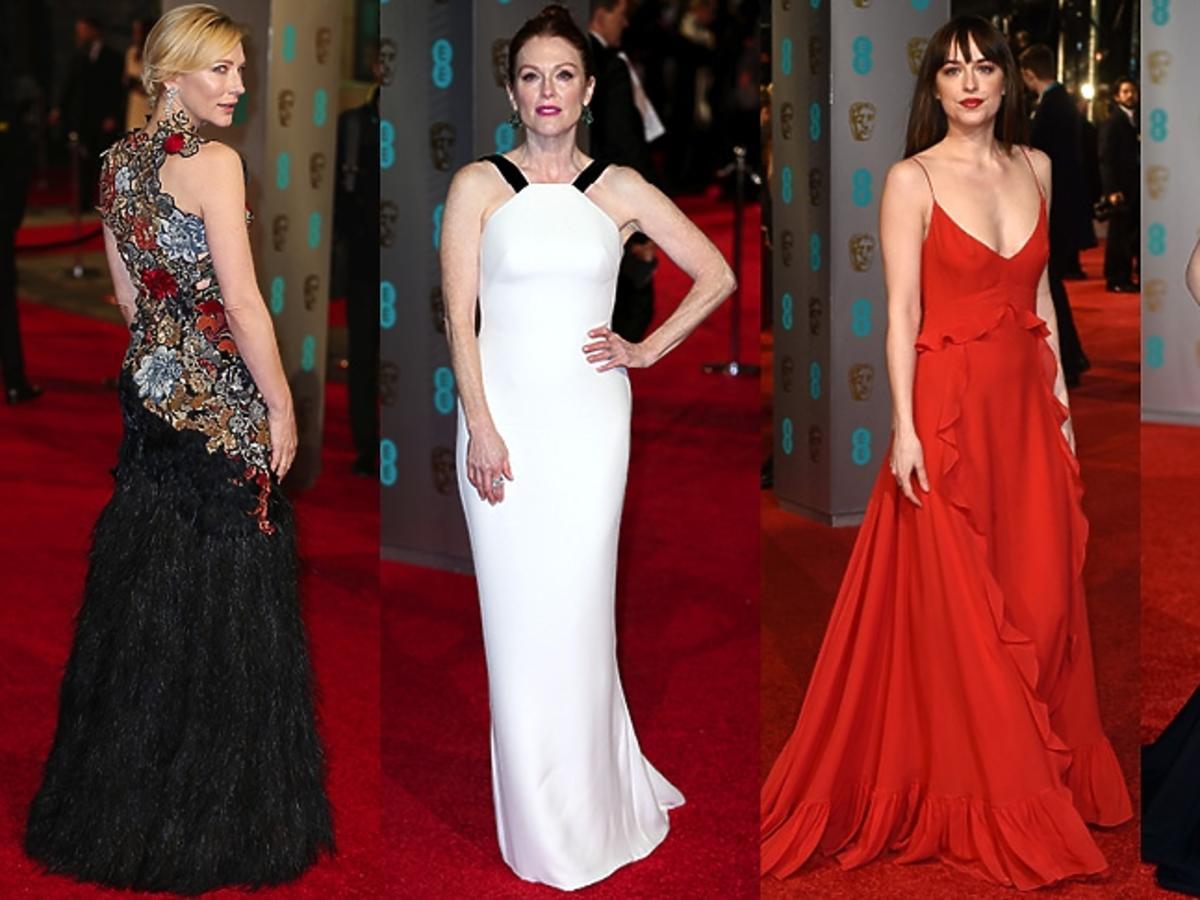 Cate Blanchett, Julianne Moore, Dakota Johnson, Kate Winslet na rozdaniu nagród BAFTA