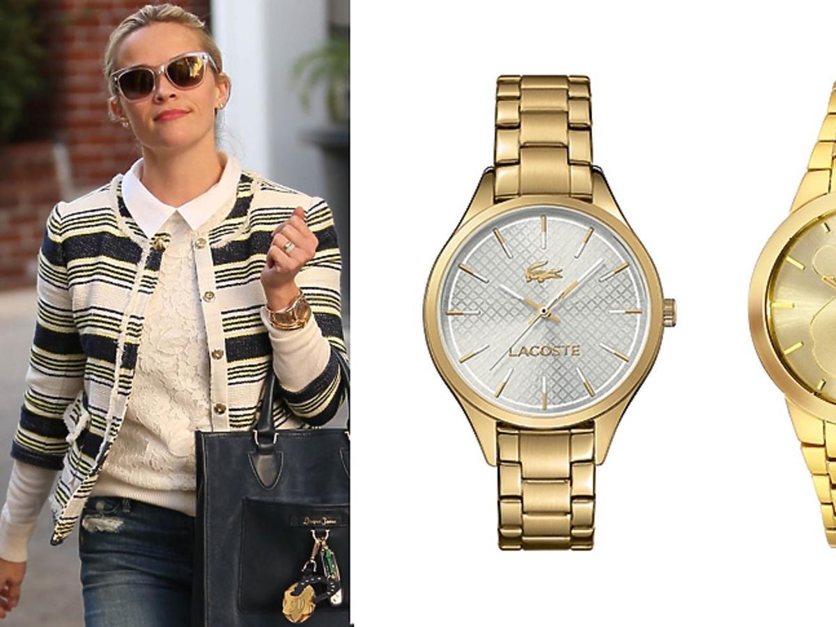 Reese Witherspoon, złote zergarki