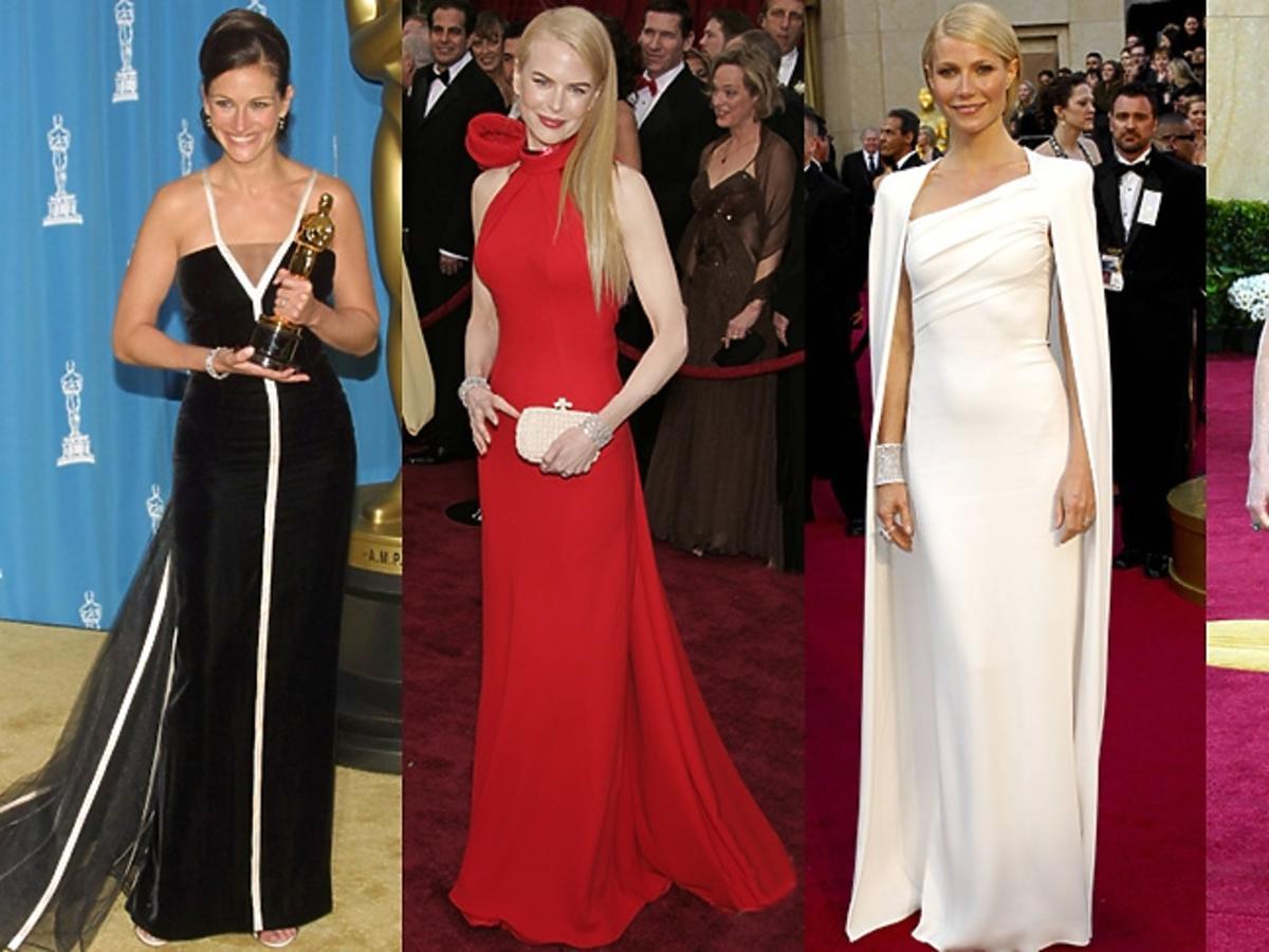 Julia Roberts, Nicole Kidman, Gwyneth Paltrow, Julianne Moore na Oscarach