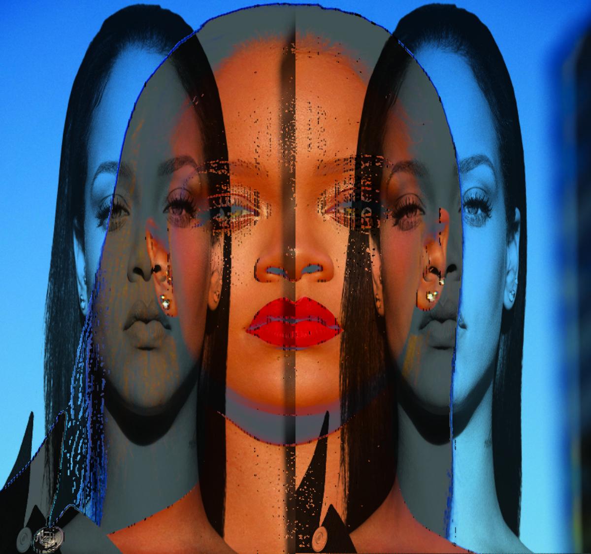 Rihanna z czerwonymi ustami, Fenty Beauty by Rihanna