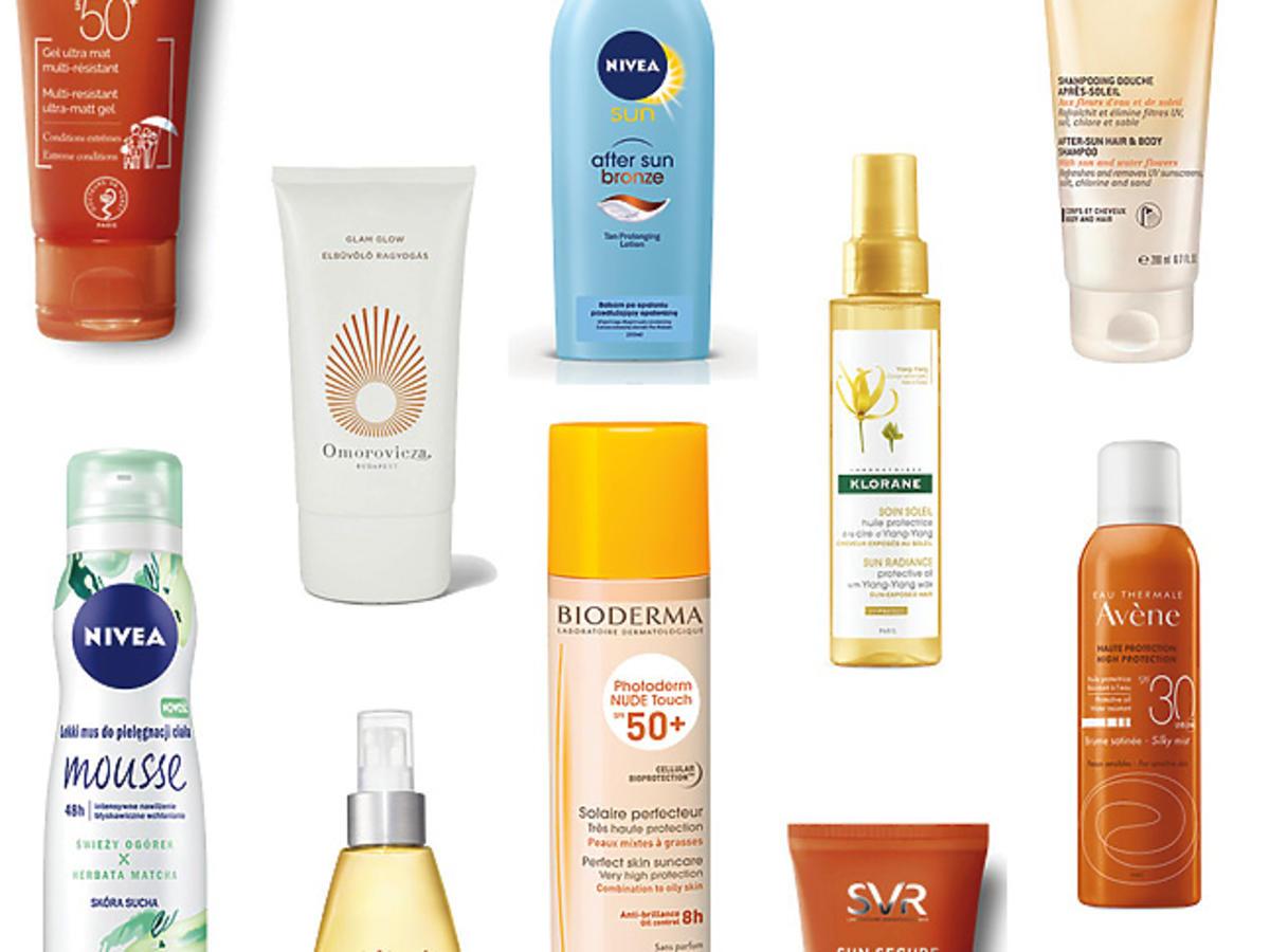 10 najlepszych produktów do ochrony przeciwsłonecznej
