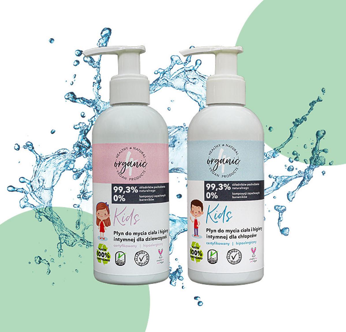 4organic - płyny do higieny intymnej