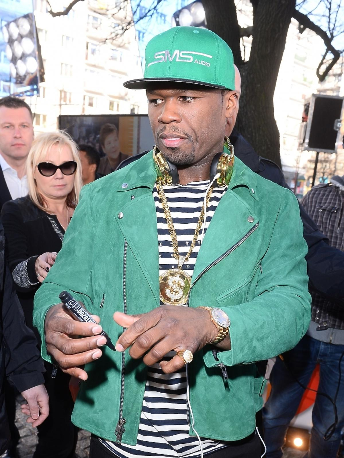 50 Cent przyjechał do Polski. 50 Cent w Polsce. 50 Cent w Warszawie. 50 Cent gościem DDTVN