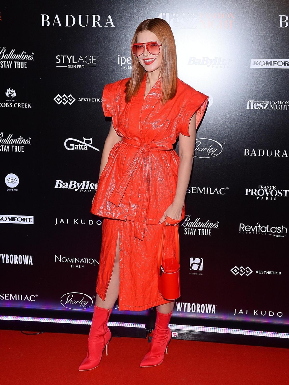 Ada Fijał na Flesz Fashion Night