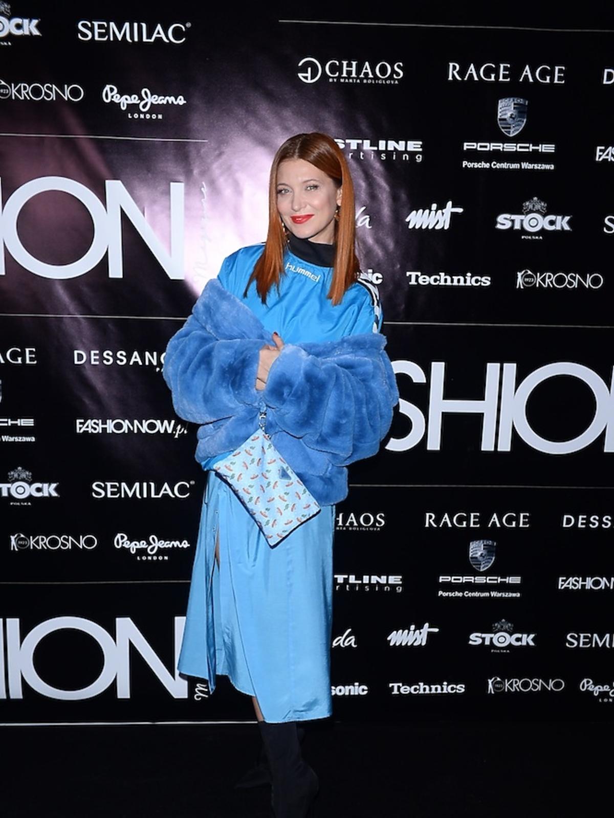 Ada Fijał na Nagrody Fashion Magazine 2017