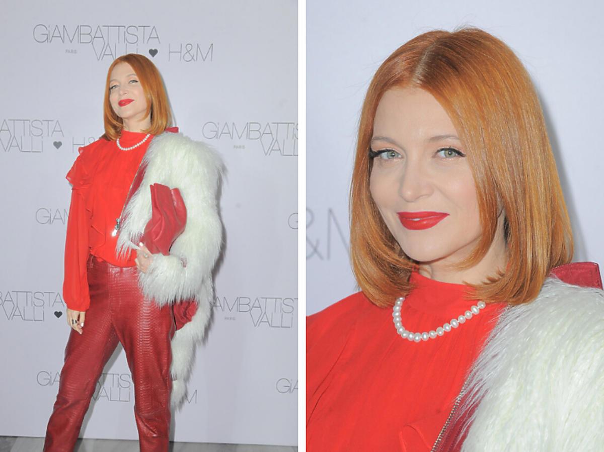 Ada Fijał na pokazie nowej kolekcji H&M i Giambattista Valli