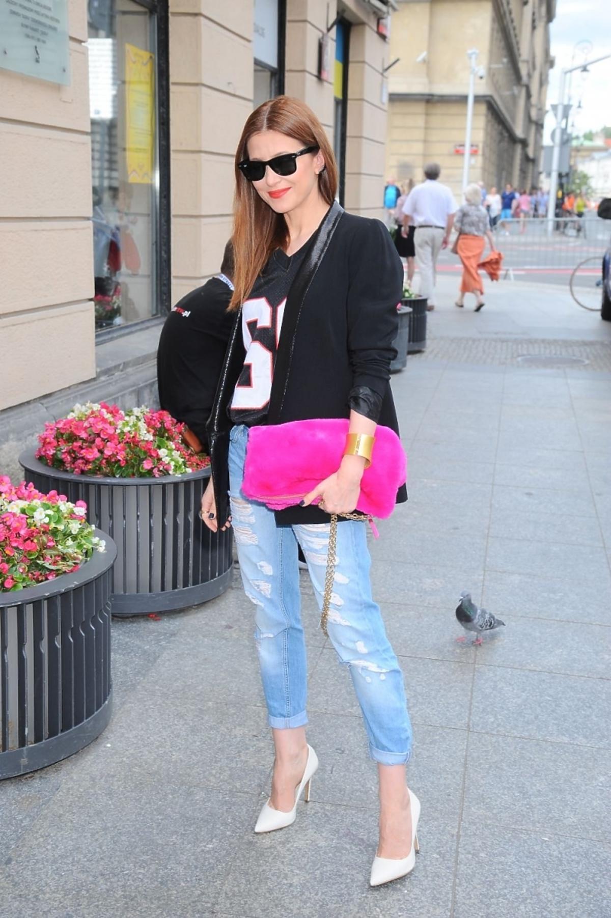 Ada Fijał na Street Fashion